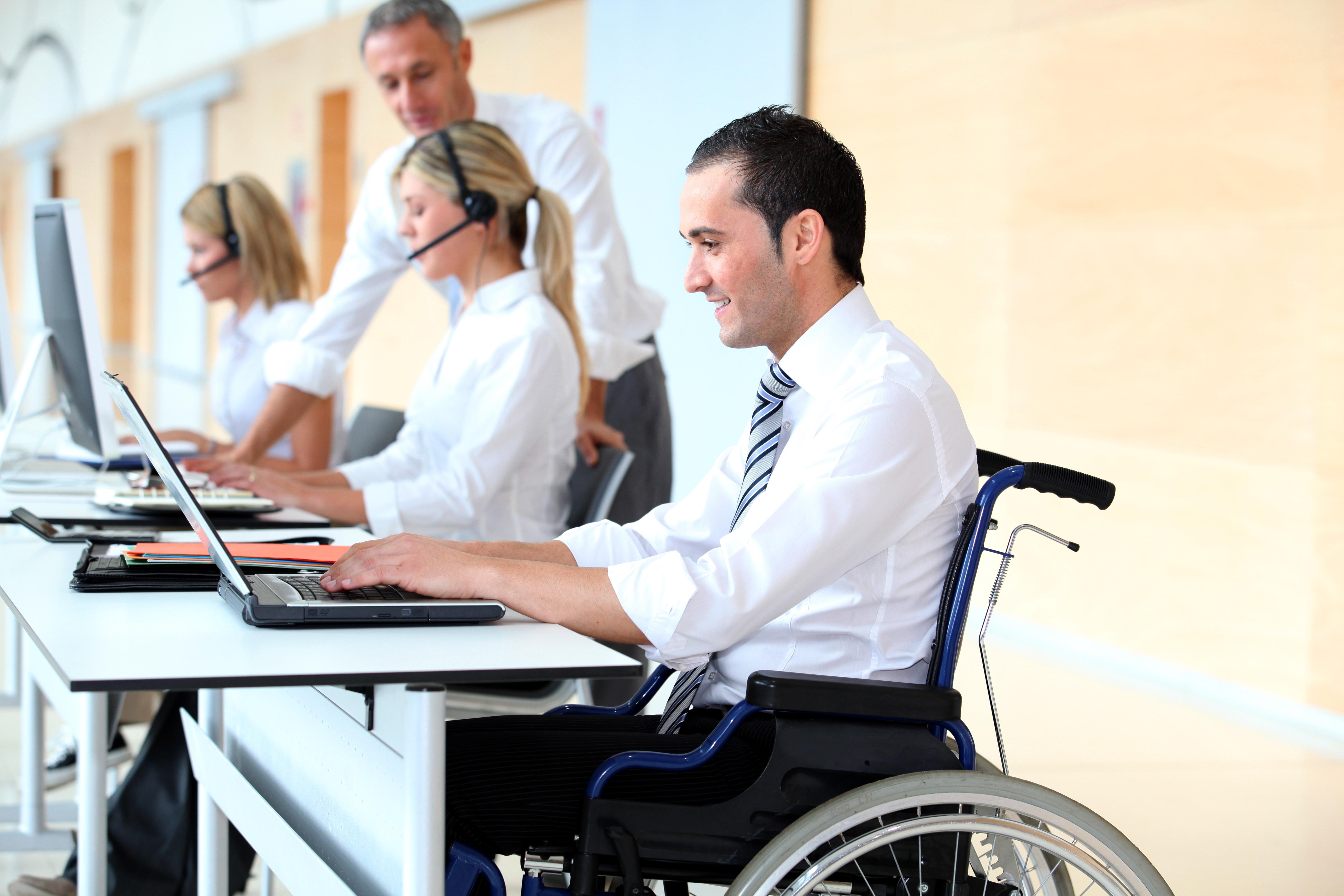 Servicios de integración laboral para personas con discapacidad