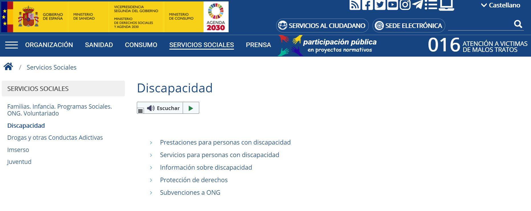 Los sitios web del sector público deben ser accesibles en la UE