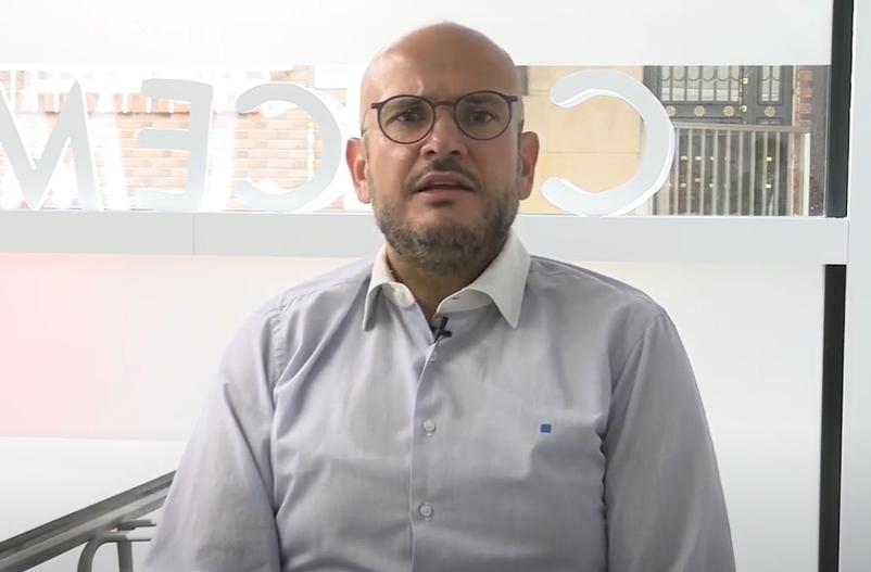 Anxo Queiruga, vicepresidente de COCEMFE